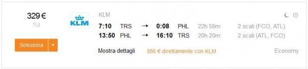 Trst >> Philadelphia >> Trst