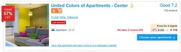 Valencia - apartman s kuhinjom i kupatilom