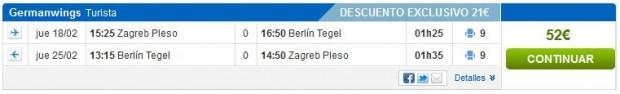 Zadar >> Berlin >> Zadar, na rumbo.pt stranicama s Diners karticom