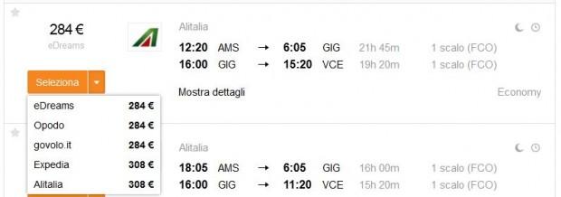Amsterdam >> Rio de Janeiro >> Venecija