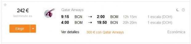Barcelona >> Mumbai >> Barcelona
