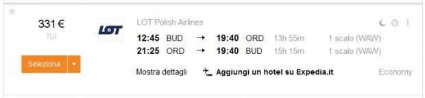 Budimpešta >> Chicago >> Budimpešta