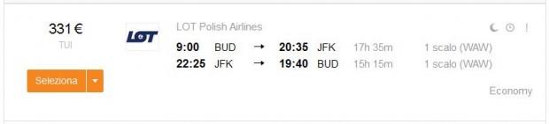 Budimpešta >> New York >> Budimpešta