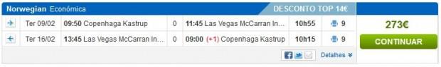 Kopenhagen >> Las Vegas >> Kopenhagen, na rumbo.pt stranicama
