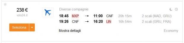 Milano >> Belo Horizonte >> Milano