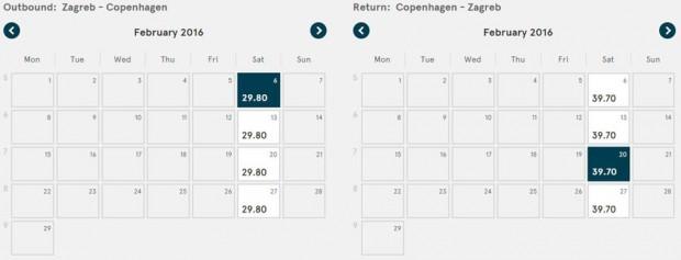 Zagreb >> Kopenhagen >> Zagreb, na Norwegian stranicama