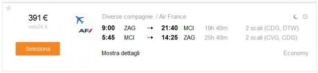 Zagreb >> Kansas City >> Zagreb