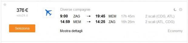 Zagreb >> Memphis >> Zagreb