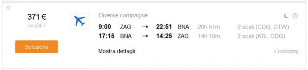 Zagreb >> Nashville >> Zagreb