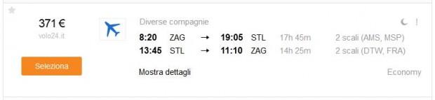 Zagreb >> St. Louis >> Zagreb