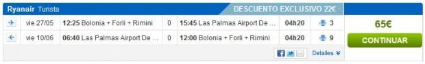 Bolonja >> Gran Canaria >> Bolonja, na rumbo.es stranicama