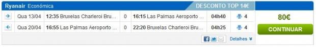 Brisel >> Gran Canaria >> Brisel