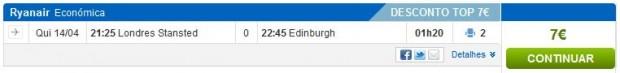 London >> Edinburgh