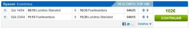 London >> Fuerteventura >> London