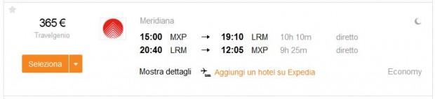 Milano >> La Romana (Dominikanska Republika) >> Milano