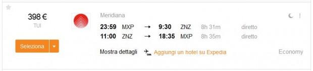 Milano >> Zanzibar >> Milano