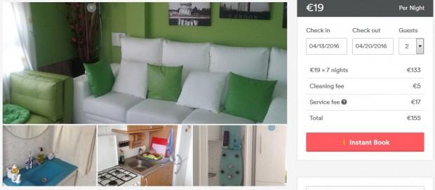 Palma Airbnb stan