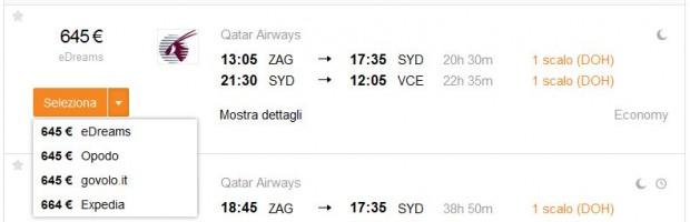 Zagreb >> Sydney >> Venecija