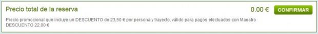 Bolonja >> Ibiza >> Bolonja, na rumbo.es stranicama, korak 2