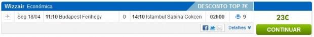 Budimpešta >> Istanbul, na rumbo.pt stranicama