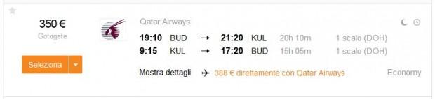 Budimpešta >> Kuala Lumpur >> Budimpešta