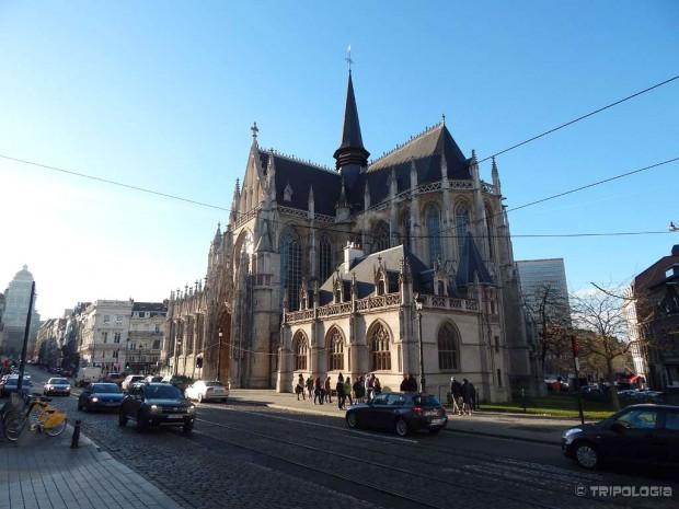 Eglise Notre Dame Du Sablon, vjerovatno najljepša crkva u Briselu