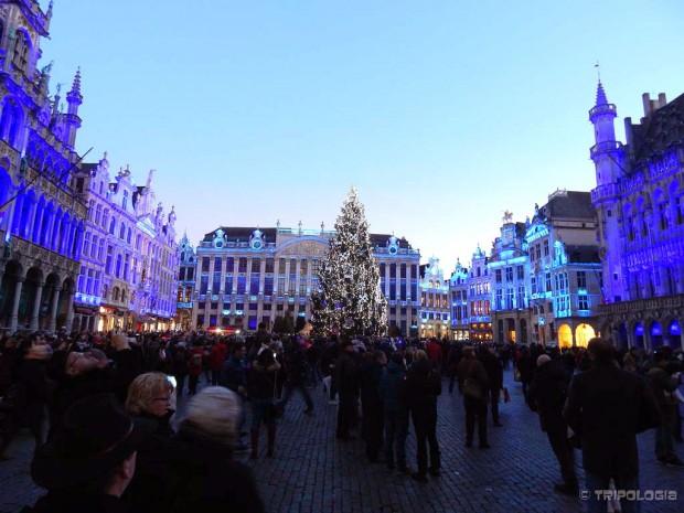 Čarobno praznično osvjetljenje na glavnom trgu