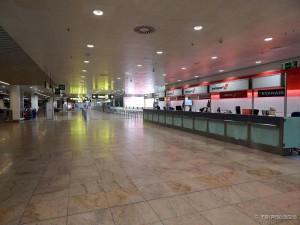 Prizor kataklizme - aerodrom Zaventem za vrijeme štrajka