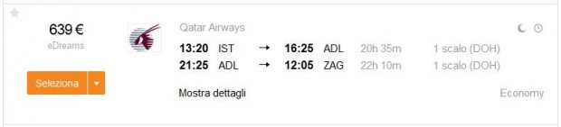 Istanbul >> Adelaide >> Zagreb