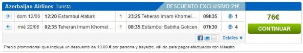 Istanbul >> Teheran >> Istanbul