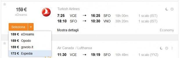 Venecija >> San Francisco >> Vilnius