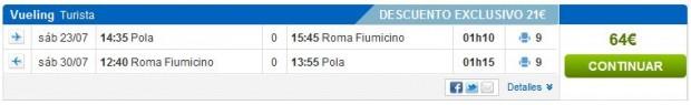Pula >> Rim >> Pula