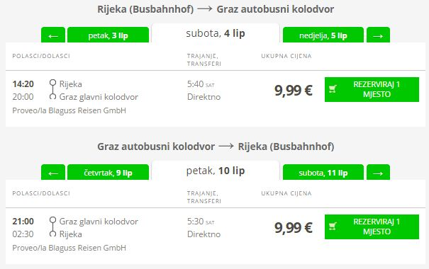 Rijeka >> Graz >> Rijeka