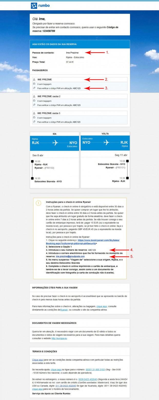 Email potvrda kupovine