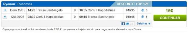 Venecija (Treviso) >> Krf >> Venecija (Treviso)