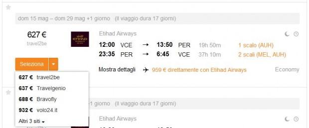 Venecija >> Perth >> Venecija