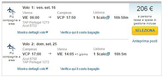 Beč >> Sao Paulo >> Beč