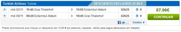 Graz >> Istanbul >> Graz