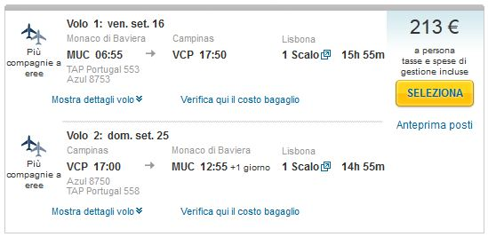 Minhen >> Sao Paulo >> Minhen
