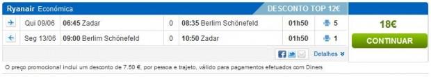 Zadar >> Berlin >> Zadar, na rumbo.pt stranicama