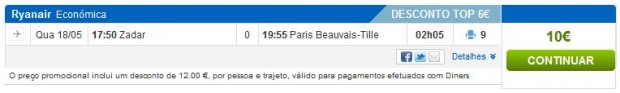 Zadar >> Pariz