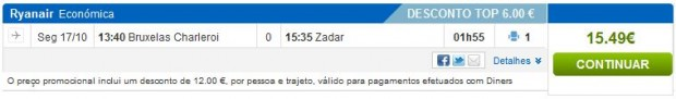 Brisel >> Zadar