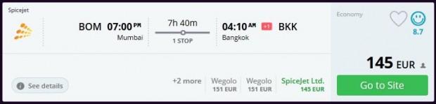 Mumbai >> Bangkok
