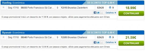 Porto >> Brisel