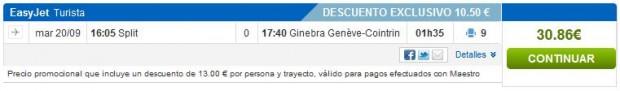 Split >> Ženeva