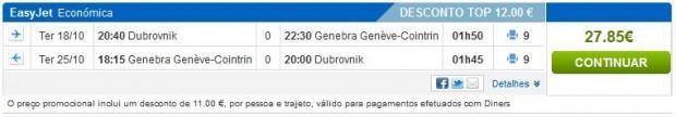 Dubrovnik >> Ženeva >> Dubrovnik, na rumbo.pt stranicama