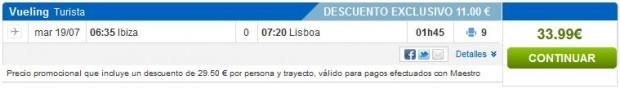 Ibiza >> Lisabon
