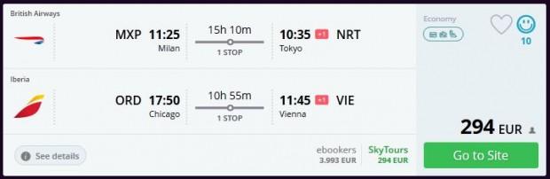 Milano >> Tokio + Chicago >> Beč