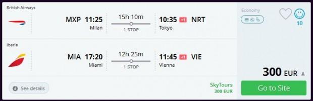 Milano >> Tokio + Miami >> Beč