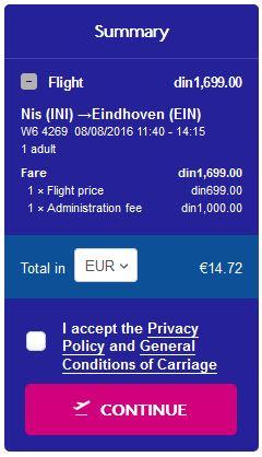 Niš >> Eindhoven